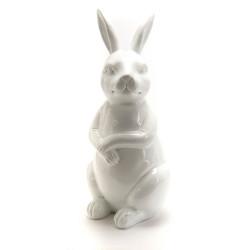 Lapin blanc en polyrésine...