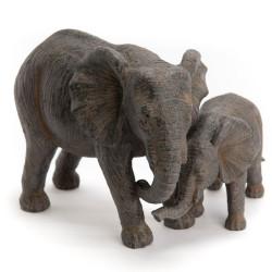 Maman éléphant et son petit...