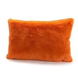 Coussin Luxe orange 40x60
