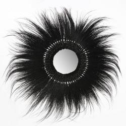 Miroir Rayung noir 80cm
