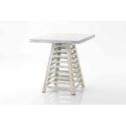 Table bord de plage 70x70cm