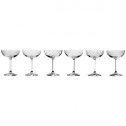 Set 6 coupes champagne...