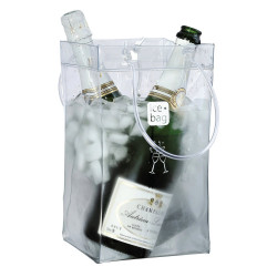 Seau ice bag - transparent xxl