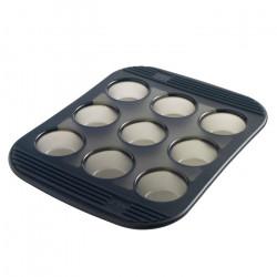 Moule pour 9 mini-muffins...