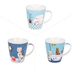 Mug cartoon cat 35 cl (lot...