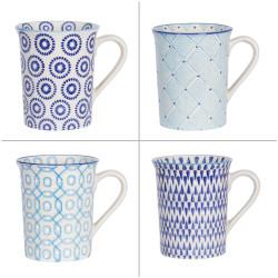 Coffret de 4 mugs adélie 30 cl