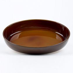 Plat sabot poterie n°2 43x31