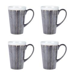 Coffret 4 mugs 30 cl kilae