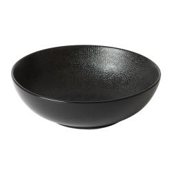 Saladier 24 cm vésuvio noir