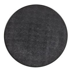 Assiette 31 cm vésuvio noir