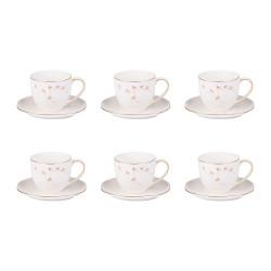 Coffret de 6 tasses à café...