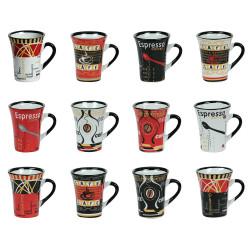 Coffret 12 tasses a cafe...