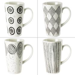 Coffret 4 mugs 42 cl palawan.