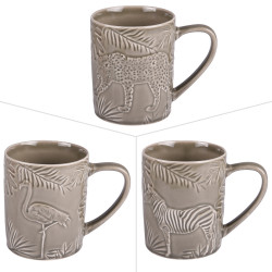 Mug kenya relief 40 cl gris...