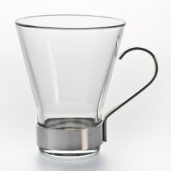 Tasse ypsilon verre/métal...