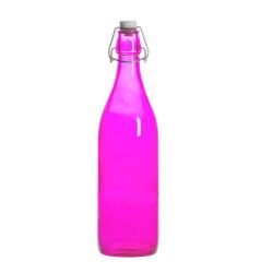 Bouteille limonade fushia...