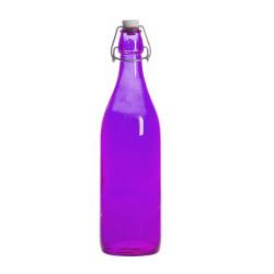 Bouteille limonade violette...