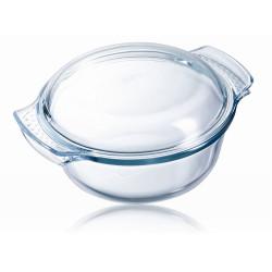 Cocotte ronde 1,5l pyrex -...