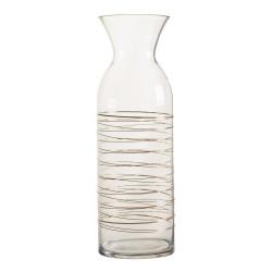 Vase verre haut h38cm...