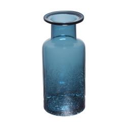 Vase bouteille craquelé...