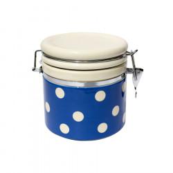 Pot hermétique pois 1l bleu...