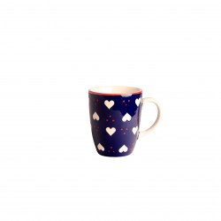 Mug b&co coeur 30 cl bleu...