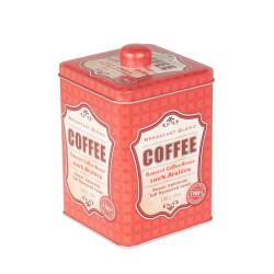 Boite à café carrée en...