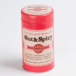 Boite à épices ronde en...