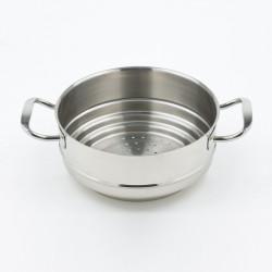 Panier vapeur inox 16 à 20 cm