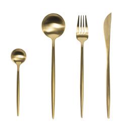 Ménagère 24 pièces diva or
