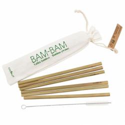Sac de 6 pailles en bambou...