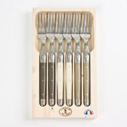 Coffret 6 fourchettes de...