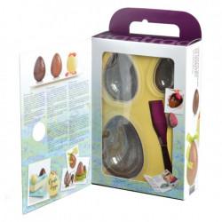 Kit pour œufs en chocolat