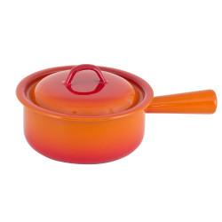 Poêlon 18  cm orange tout feux