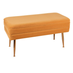 Banquette bibum orange...