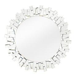 Miroir rond éclat 50 x 50 cm