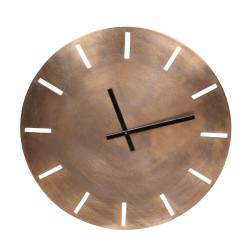 Horloge en métal or 73 cm