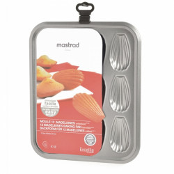 Moule pour 12 madeleines...