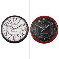 Pendule en métal 54 cm...